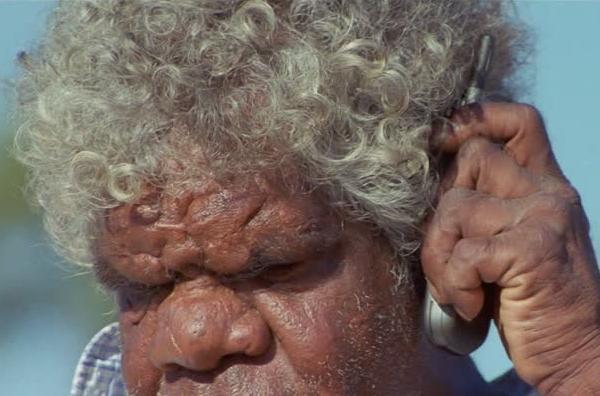 nariz ancha de aborigen